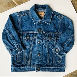 Levi Strauss Vintage Denim Jean Jacket Size 4 RARE
